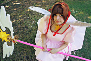 Pink Angel by DascocoCosplay