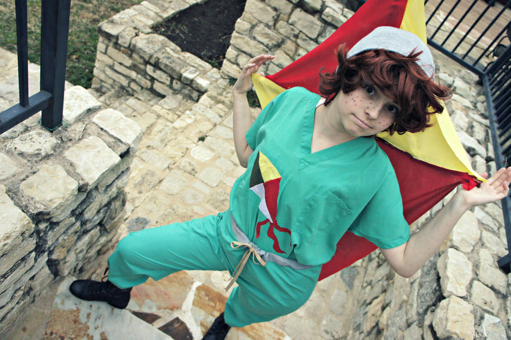 The Human Kite By Dascococosplay On Deviantart