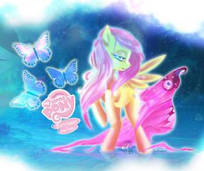 Fluttershy is BEST pony by Sahtori-Kamaya