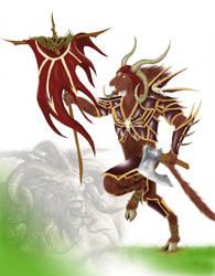 Warhammer:  Son of Cyanathair by Nravizu