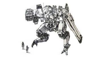Mech 07  Medium Assault Anti-A by funkychinaman