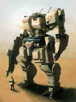 M-34 Mongoose Desert Recon by funkychinaman