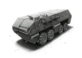 Armored Personal Carrier by funkychinaman