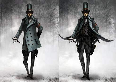 Monsieur Dague by funkychinaman