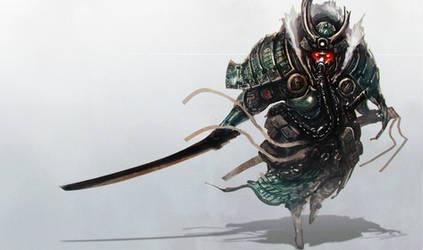 Metal Swordsman by funkychinaman