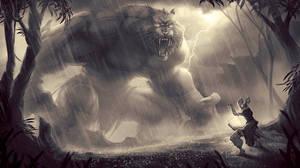 Storm Summoner by AmandaDuarte