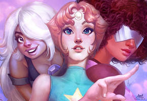 Crystal Gems by AmandaDuarte