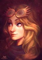 Luna Lovegood by AmandaDuarte