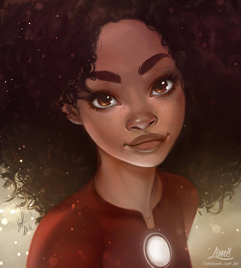 Riri Williams by AmandaDuarte