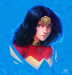 Wonder Woman - Heroine Series by AmandaDuarte