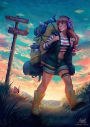 Backpacker by AmandaDuarte