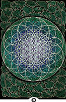 The Flower of Life by irisaura