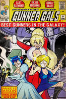 YukaTakeuchiFan Cover Commission: Gunner Gals by MichaelJLarson