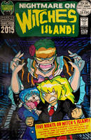 YukaTakeuchiFan Cover Commission: Witche's Island by MichaelJLarson