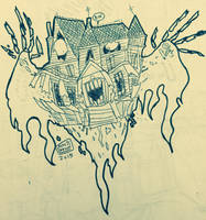 Haunted House by MichaelJLarson