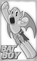 Drawlloween 2016, October 22nd - Bat-Urday by MichaelJLarson