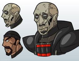 Reaper's face idea by MichaelJLarson