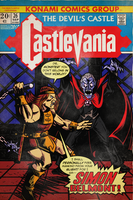 Castlevania Comic Cover by MichaelJLarson