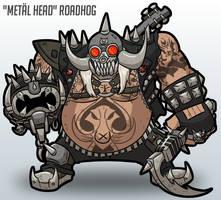 Metal Head Roadhog Skin Idea by MichaelJLarson