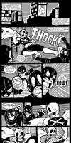 The Skull Chpt. 1 Pages 1-5 by MichaelJLarson