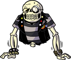 Spooky Scary Skeleton Collab Entry by MichaelJLarson