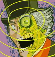 Drawlloween 2017 Oct 20 - Dr Jekyl and Mr Friday by MichaelJLarson