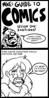 Mike's Guide To COMICS Lesson One by MichaelJLarson