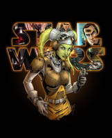 Rebel Captain Hera Syndulla by djinn-world