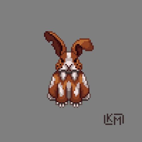 Dire Bunny by RollToNotDie
