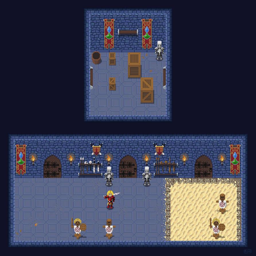 Castle Basement by RollToNotDie