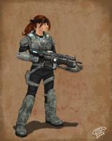 Gears of War by Windfreak