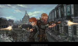 Fallout 3: Back to Back by Windfreak