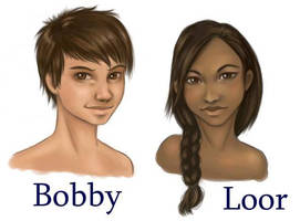 Bobby and Loor Test by Makena
