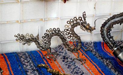 metal dragon by AidaroseC
