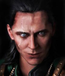 Loki by kamuikaneo