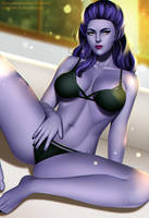 Widowmaker Full Nude Available by v1mpaler