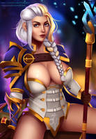 Jaina Proudmoore Full Nude Available by v1mpaler