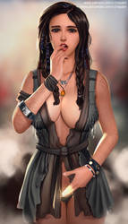 Freya | God of War Full Nude Available by v1mpaler