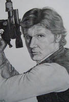 Han Solo by clamia