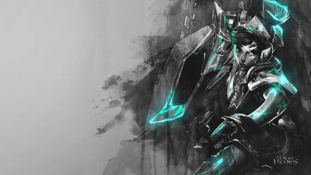 Arcade Riven - Wallpaper \ New effects test :pp by RaycoreTheCrawler