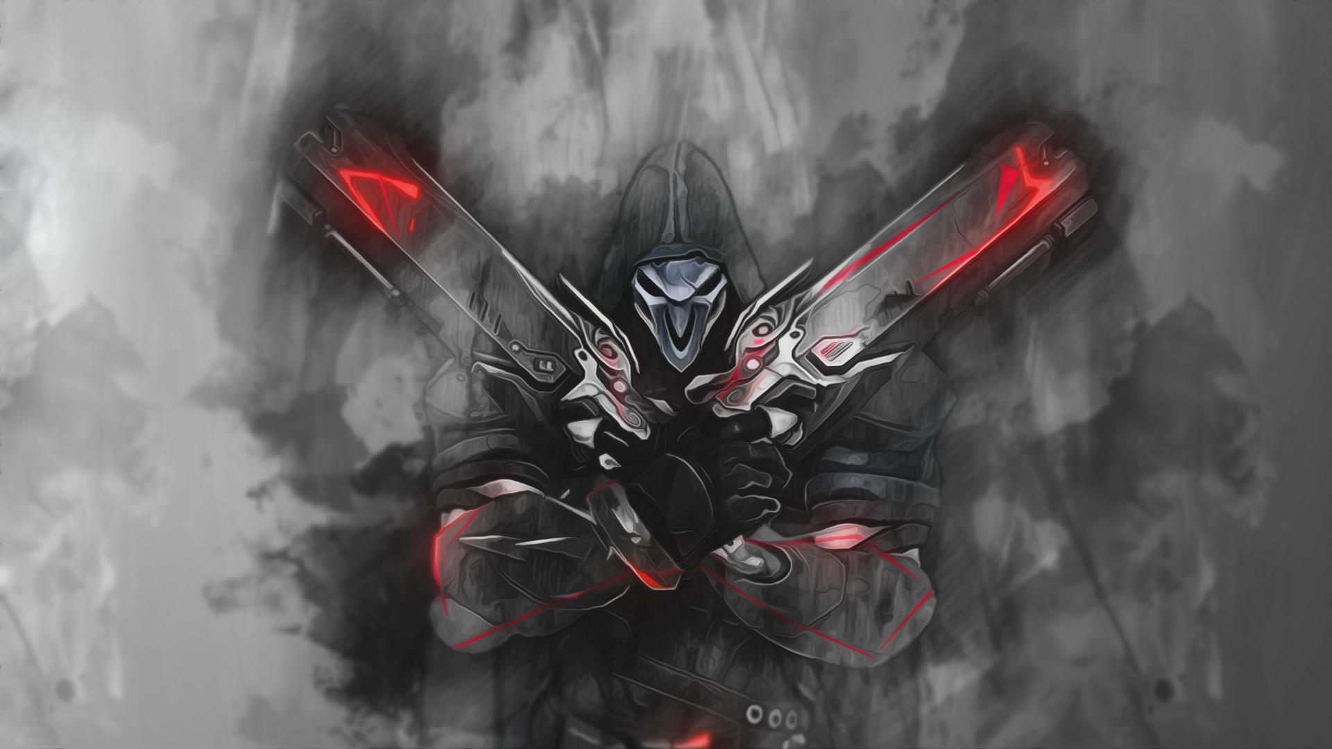 Reaper - Overwatch Wallpaper by RaycoreTheCrawler on ...