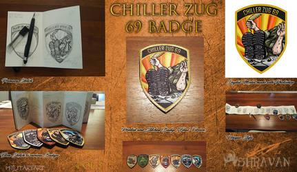 Chiller Zug 69 Military Badge (4 of 5) by Ashravan