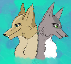 Mirah and Chamassa by agoracoe