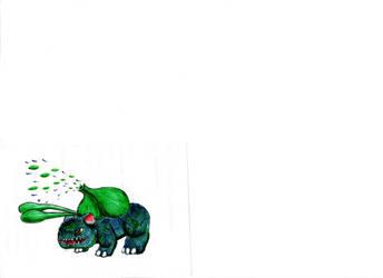 Bulbasaure by Luca777