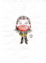 Chibi Loki with lollipop by Luca777