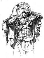 Steranko's Hercules Sketch by DeevElliott