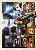 EL ZOMBO, SHARKY and MR MONSTER pg 1 DAVE WILKINS by DeevElliott