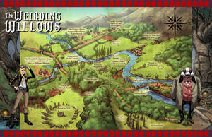 Willow Weir = Tour Map by DeevElliott