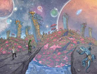 Weirding Willows The Edge of WONDERLAND by DeevElliott