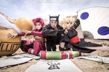 Naruto Sand Siblings by Jencus